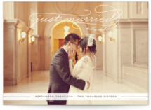 Gallery Classic Wedding Announcements