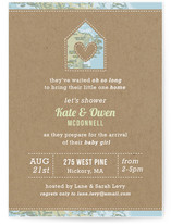 Coming Home Baby Shower Invitations