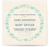 Parade of Animals Baby Shower Invitations