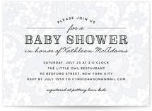Laycie Baby Shower Invitations