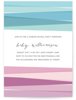 Gender Unwrapped Baby Shower Invitations