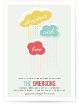 Showered with Love Baby Shower Invitations
