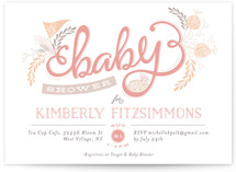 The Lovely Letters Baby Shower Invitations