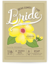 Blossoming Bride Bridal Shower Invitations