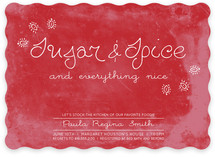 Sugar and Spice Bridal Shower Invitations