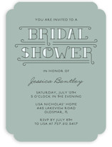 Bliss Bridal Shower Invitations