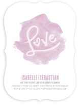 Love in Watercolor Bridal Shower Invitations
