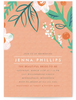 Matthiola Bridal Shower Invitations