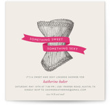Vintage Corset Bridal Shower Invitations