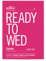 Ready to Wed