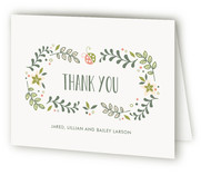 Sweet Little Ladybug Birth Announcements Thank You Cards