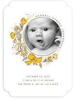 Born Bouquet Birth Announcements