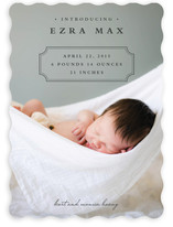Classic Storybook Birth Announcements