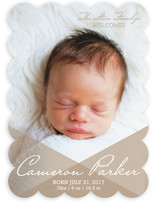 Overlay Love Birth Announcements