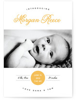 Sweet Simplicity Birth Announcements