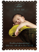 Love at First Sight Birth Announcements