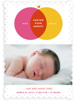 Baby Makes Three Birth Announcements