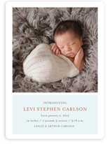 Poetic Birth Announcements
