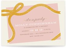 It's a Party Children's Birthday Party Invitations