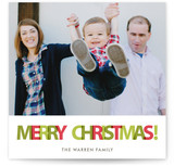 Oh What Color Christmas Photo Cards