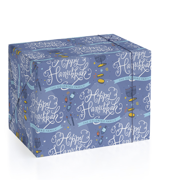 Joyful Hanukkah by Laura Bolter Design