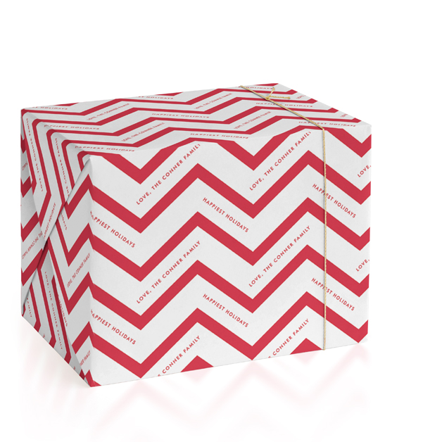 Holiday Chevron by Lauren Chism