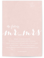 The Future Mr. and Mrs. Engagement Party Invitations