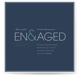 Engaged Engagement Party Invitations