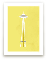 Seattle Space Needle Fl... by Serenity Avenue