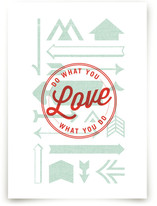 Love Crest by Monica Tuazon