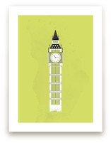 Big Ben Flare by Serenity Avenue