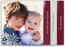 Snowflake Window Holiday Minibook™ Cards