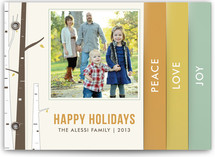 Seasonal Birch Holiday Minibook™ Cards