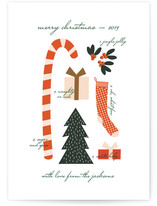Christmas Collage by Emily Ranneby