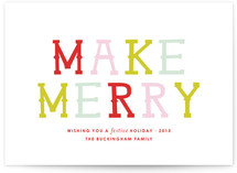 Merrymaking by toast & laurel