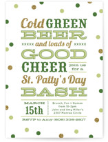 Green Beer Good Cheer by Laura Hankins