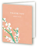 Matthiola Baby Shower Thank You Cards