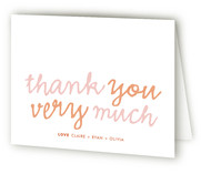 Goo Goo Baby Shower Thank You Cards