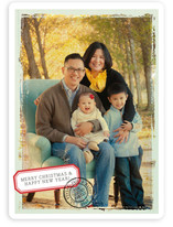 Postmarked Holiday Photo Cards