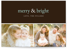Merry & Bright Holiday... by emily elizabeth stationery