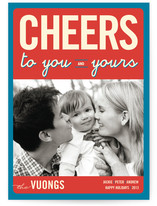 Float + Cheers to You Holiday Photo Cards