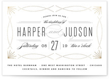 Savoy Foil-Pressed Wedding Invitations