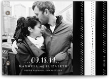 Simple Type Wedding Invitation Minibook™ Cards