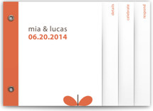 Grow Wedding Invitation Minibook™ Cards