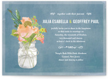 Bouquet D'Amour Wedding Invitations