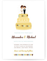Cake Toppers Wedding Invitations