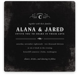 After Sunset Wedding Invitations
