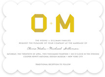 Origami Wedding Invitations