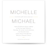 Baseline Wedding Invitations