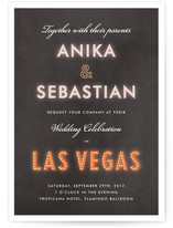 Bright Light City Wedding Invitations